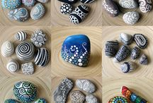 Kivitaidetta (Painted rocks)