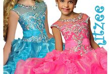 Ritzee Girls Fall 2014 Pageant Dresses