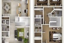Floorplans townhouses