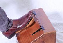 Shoe Shine Boxes