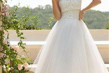 Wedding dress & assesorise