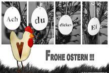 Ostergrüße / Impressionen von meinen eCards Thema Ostern