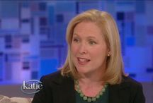 Senator Gillibrand Fighting For Women / by OffThe Sidelines