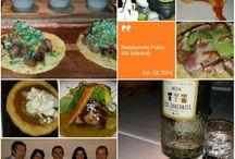 Sitios en los que he comido / Restaurantes, sitios y platos que merece la pena recordar