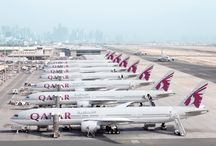 Qatar Airways Fleet / The fleet of aircraft that help serve the growing Qatar Airways network spanning the globe. / by Qatar Airways