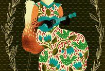 MUSIC (personal work) / illustration