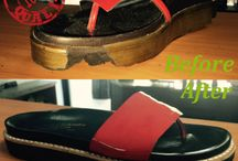 Before & After Shoe Repair / this is a bored show casing all our before and after projects on all types of shoes