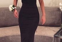 Black Tie Dress
