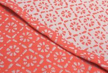 Woven wraps by colour - Coral