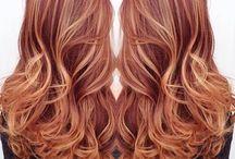 hair colour copper