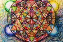 Flower of life, mandalas