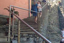 Cinque Terre / Milan - Genova - Cinque Terre, with my friends Maja & Pil July 2013