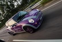 Charriol Mini Coopers / Charriol Mini Coopers hit the road in Hong Kong