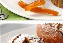 moelleux  au marrons  et écorce  d'orange