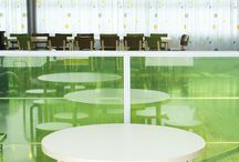 Artek / A seasonally reborn Alvar Aalto lounge at Helsinki-Vantaa airport.  Functionality and timeless aesthetics were the essential elements in this project.