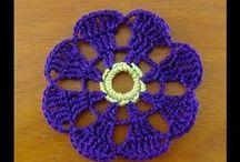 crochet flowers
