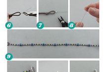 Halsband med beads