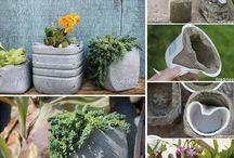 zahradné dekorácie