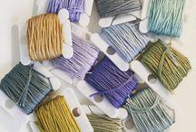 DMC thread colour palettes