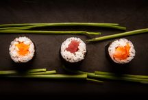 "Sushi / ""Making sushi is an art, and experience is everything."" Nobu Matsuhisa"