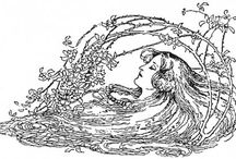 Illustrations by Millicent Sowerby / Illustrations created by Githa's sister, Millicent Sowerby.