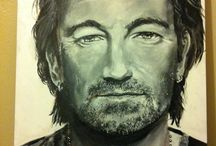Art / Paintings of Famous Figures in Pop Culture