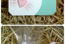 Stampin Up UK Easter Ideas / Stampin up UK ideas for Easter craft eggs tags cards