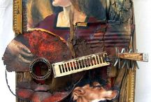 Collages and Mixed Media / Collages that inspire / by Peggy Chapman