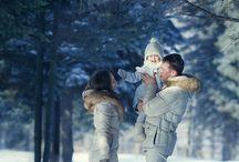 Семейные фотографии зима