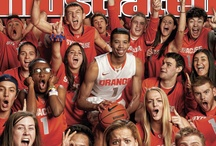 Syracuse Orange / Showing some love for my alma mater.