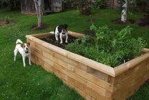 WoodBlocX - záhony / Nápady na zkrášlení zahrady.