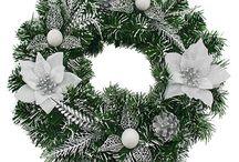 Χονδρική στεφάνια Χριστουγέννων