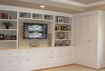 Master Bedroom office storage