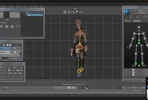 Animating, Rigging & Mocap