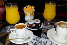 Desayunos súper sanos.