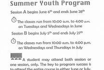 2017 Summer Youth Program