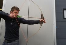 at the workshop / Pictures of our work at the workshop,bows, arrows...