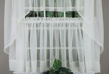 Sheer Kitchen Curtains / by Swags Galore