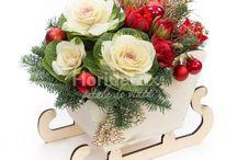 Flori de Craciun, aranjamente de Craciun