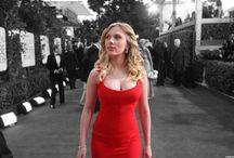 Michala red dress