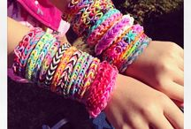 rainbow loom for crazy girlz / Bracelets / by patricia fernandes