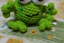 Frosch  Amigurumi