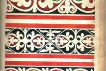 Орнаменты сербских фресок