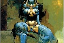 Comic art Bisley