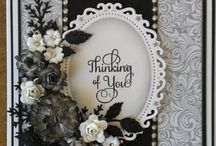 Black and White Cards / by Ecstasy Crafts