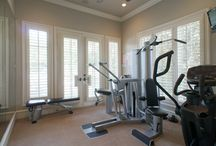 Workout-worthy home gyms