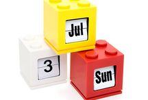 Decoração com Lego