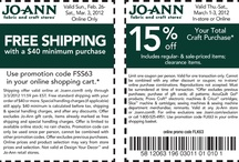 coupons/special deals