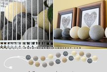 Cotton balls / Cotton balls - inspirations and tutorials, DIY