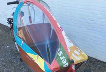 Bakfiets, transportbikes / The original Clarijs Bakfiets canopies!   Clarijs was the first to design and produce canopies for the commercial tarnsportbkes such as the Cargobike from Bakfiets.nl  Check out our big range of covers and canopies for different brands and made out of different materials.